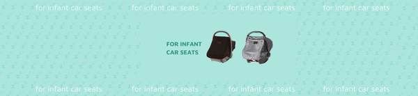 Car seat canopies and sun shades
