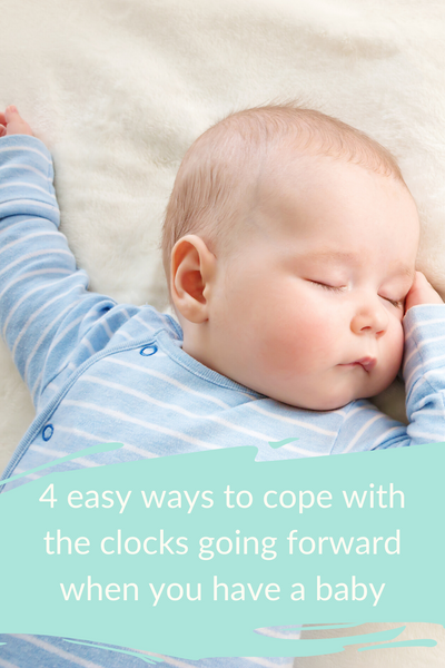 4 tips for adjusting your baby's sleep when the clocks go forwards