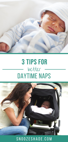 Three tips for better daytime naps for baby