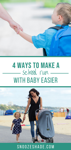 4 ways to make a school run with baby easier