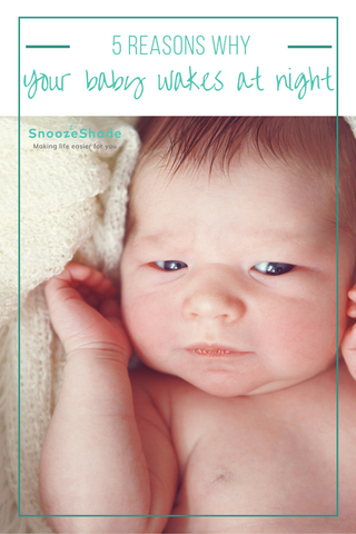 Wondering why your baby wakes at night? Wondering what you can do about it? Well wonder no more! We've put together the top five reasons why your baby wakes, and some information on why it happens too.