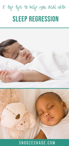 5 Top Tips to Deal with Sleep Regression