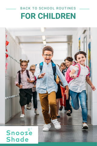 Back to school routines for children