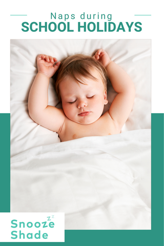 The school holidays are hard work. You've got older kids off school- probably bored, wanting you to spend money and needing lots if your attention- and younger kids at home needing their routine to run as smoothly as it always does. So how do you juggle it all and keep everyone happy? Read on to discover our top tips for helping little ones to nap during school holidays.