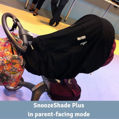 SnoozeShade Plus on a Stokke
