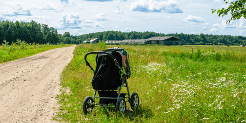 get outside with your baby
