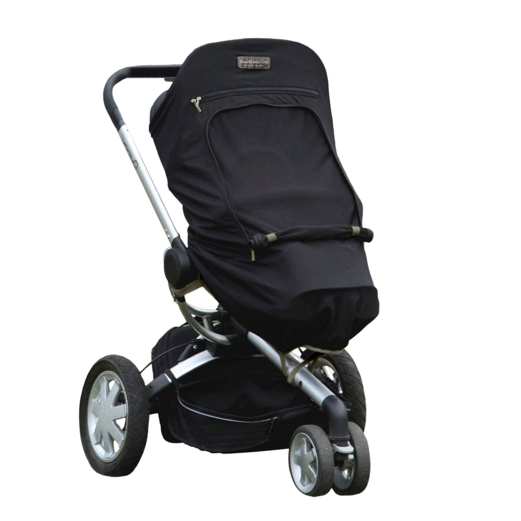 SnoozeShade Plus (6m+) pushchair and buggy sun shade blocks up to 99% of UV