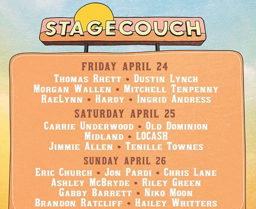 Stagecoach Country Festival To Go Online With SiriusXM