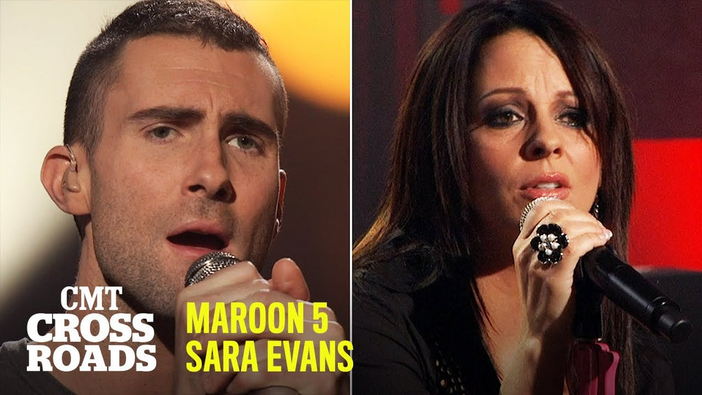 Throwback to Sara Evans & Maroon 5's Performance Of 'She Will Be Loved'