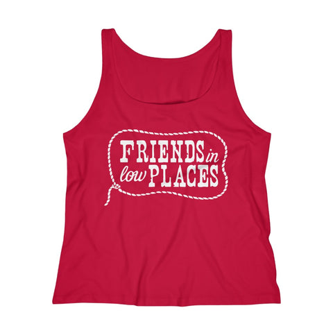 Women's Relaxed Tank Top - Friends In Low Places