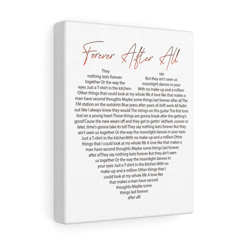 Canvas Wrap - Forever After All
