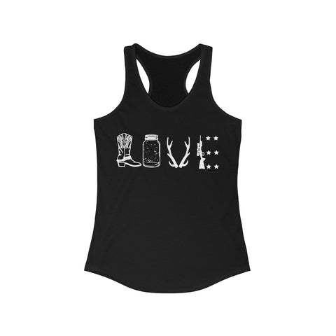 Women's Racerback - Country Love