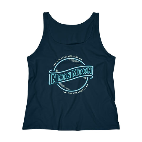 Women's Relaxed Tank Top - Neon Moon