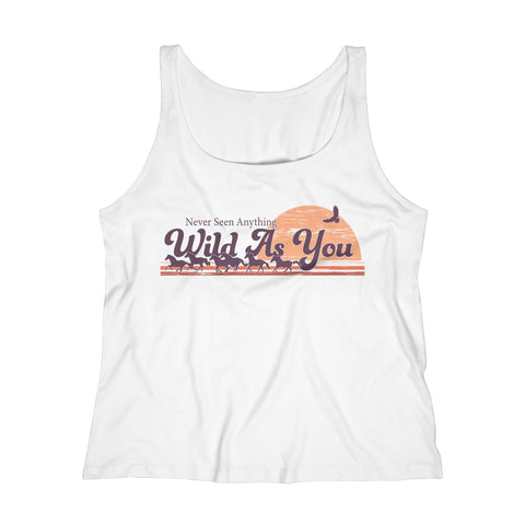 Women's Relaxed Tank Top - Wild As You