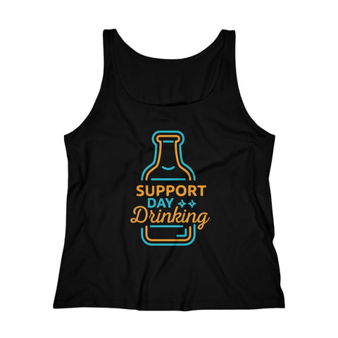 Women's Relaxed Tank Top - Support Day Drinking