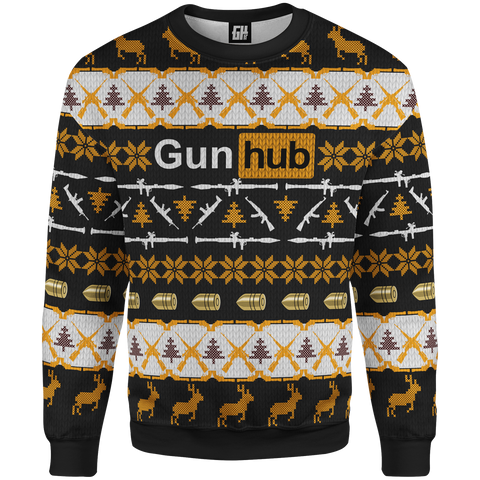 Christmas Sweater - Gun Hub