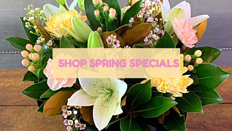 Spring flower & gift delivery deals. Yamba, Maclean, Grafton & Iluka