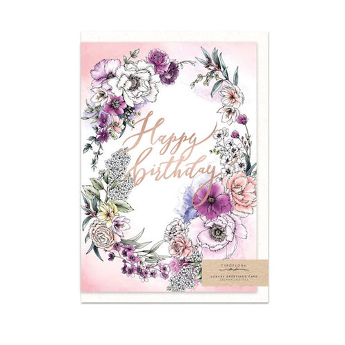 Blooming Birthday Gift Card