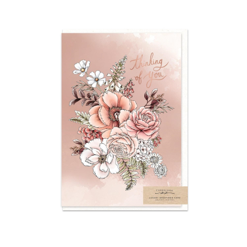 Peony Thinking of You Gift Card