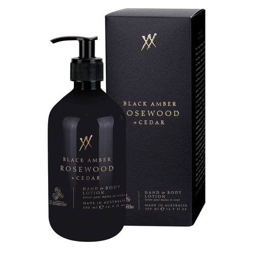Alchemy - Hand & Body Lotion - Black Amber