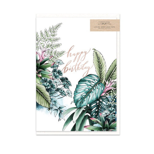 Tropical Birthday Gift Card