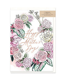 Pink Mother's Day Gift Card