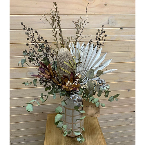 Vase Arrangement - Dried Flowers