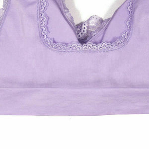 Sexy Front Cross Deep V-Neck Adjustable Side Buckle Sports Bra