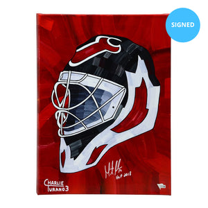 "Martin Brodeur Signed 16"" x 20"" Embellished Giclee (Limited Edition)"