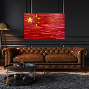 "China 30"" x 48"" Original Artwork"