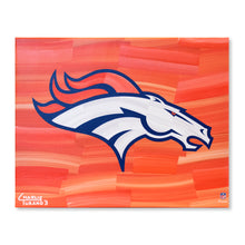 "Load image into Gallery viewer, Denver Broncos 16"" x 20"" Embellished Giclee"