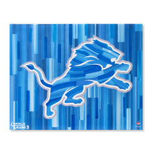 "Load image into Gallery viewer, Detroit Lions 16"" x 20"" Embellished Giclee"