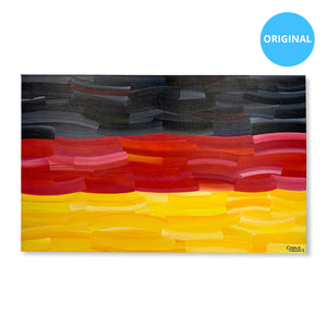 "Germany 30"" x 48"" Original Artwork"