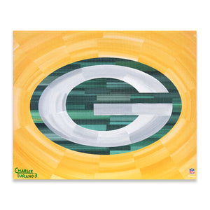 "Green Bay Packers 16"" x 20"" Embellished Giclee"
