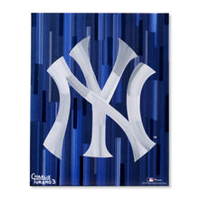 "Load image into Gallery viewer, New York Yankees 16"" x 20"" Embellished Giclee (Navy)"