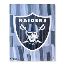 "Load image into Gallery viewer, Las Vegas Raiders 16"" x 20"" Embellished Giclee"
