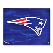 "Load image into Gallery viewer, New England Patriots 16"" x 20"" Embellished Giclee"
