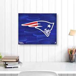 "New England Patriots 16"" x 20"" Embellished Giclee"