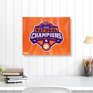 "2018 National Champions 16"" x 20"" Embellished Giclee"