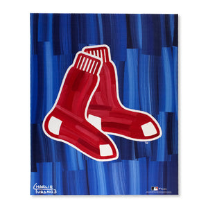 "Boston Red Sox 16"" x 20"" Embellished Giclee (Sox)"