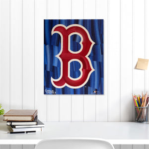 "Boston Red Sox 16"" x 20"" Embellished Giclee (B)"