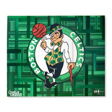 "Load image into Gallery viewer, Boston Celtics 16"" x 20"" Embellished Giclee"