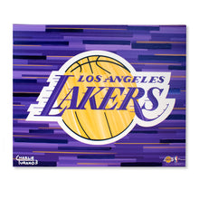 "Load image into Gallery viewer, Los Angeles Lakers 16"" x 20"" Embellished Giclee"