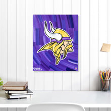 "Load image into Gallery viewer, Minnesota Vikings 16"" x 20"" Embellished Giclee"