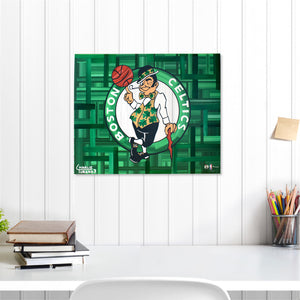 "Boston Celtics 16"" x 20"" Embellished Giclee"