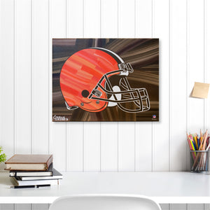 "Cleveland Browns 16"" x 20"" Embellished Giclee"