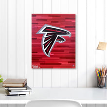"Load image into Gallery viewer, Atlanta Falcons 16"" x 20"" Embellished Giclee"