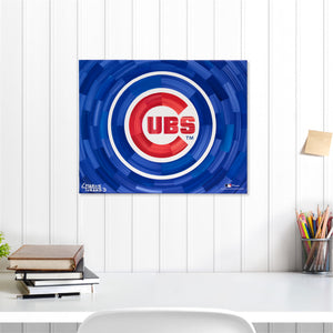 "Chicago Cubs 16"" x 20"" Embellished Giclee (Cubs)"