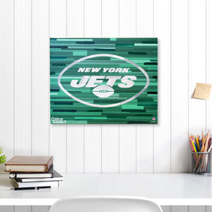 "New York Jets 16"" x 20"" Embellished Giclee"