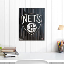 "Load image into Gallery viewer, Brooklyn Nets 16"" x 20"" Embellished Giclee"